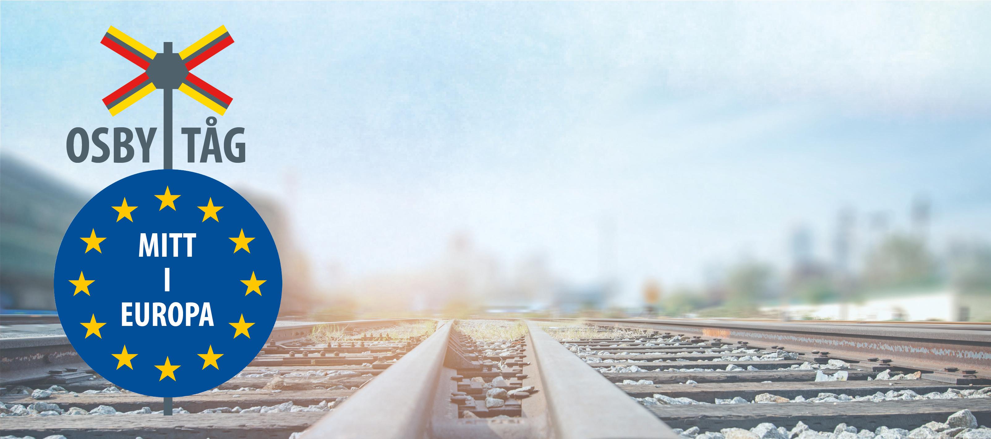 startsida för Osby tåg